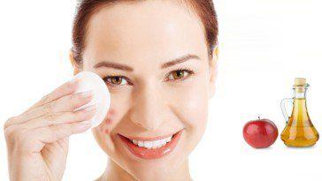 Apfelweinessig für die Hautpflege nutzen