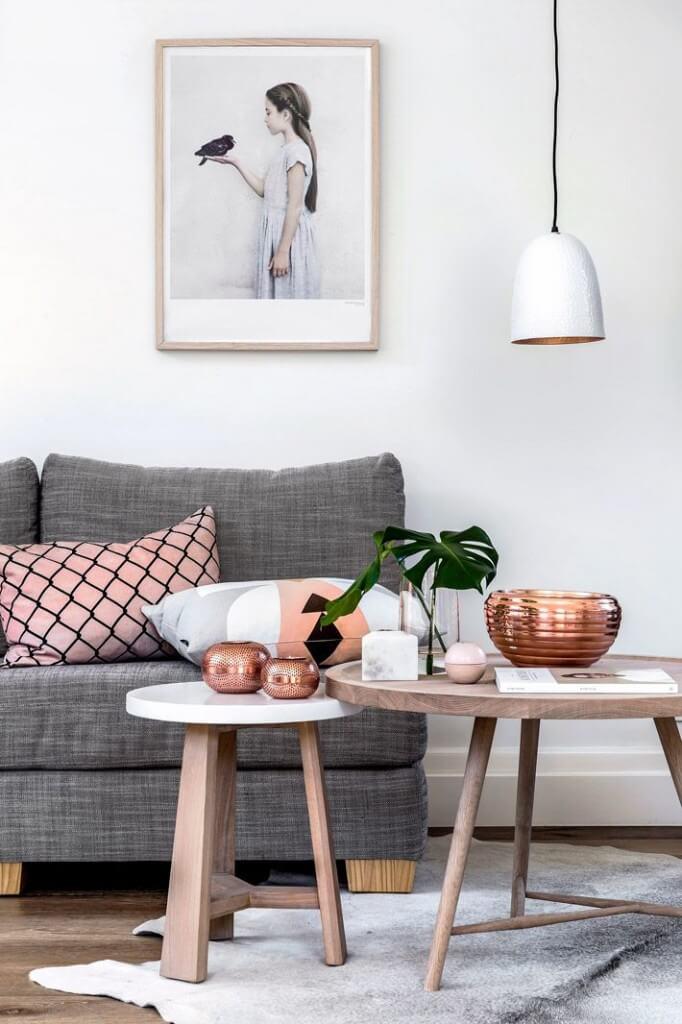 Kupfer-Design - Wohndelemente - DIY Wohndeko