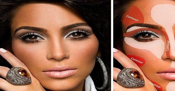 Das ist das Makeup Geheimnis von Kim Kardashian