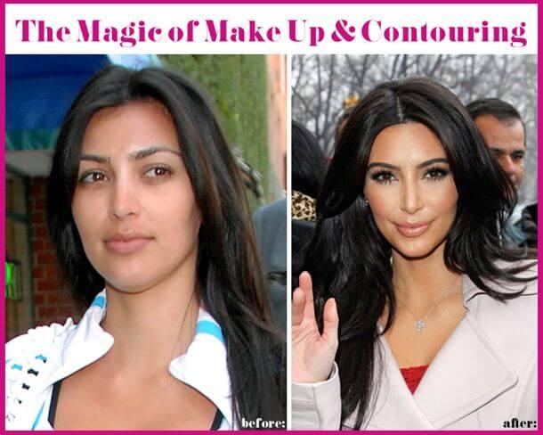 Kim Kardashian Make-up zum Nachmachen
