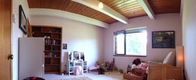 Kinderzimmer mit märchenhaften Elementen renovieren