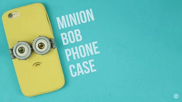 Bob Handyhülle -Geschenkidee für Minion Fans