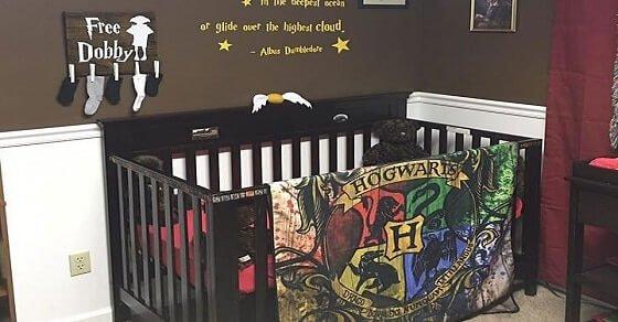 Schlafzimmer einrichten á la Harry Potter für die kleine Hexen und Zauberer