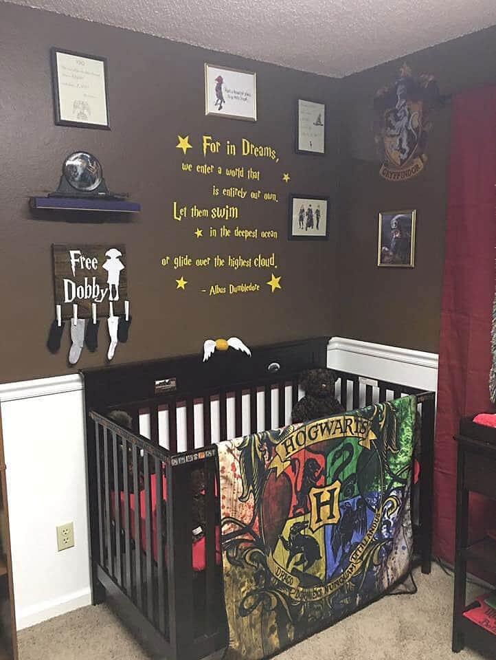 schlafzimmer einrichten la harry potter f r deine hexen und zauberer. Black Bedroom Furniture Sets. Home Design Ideas