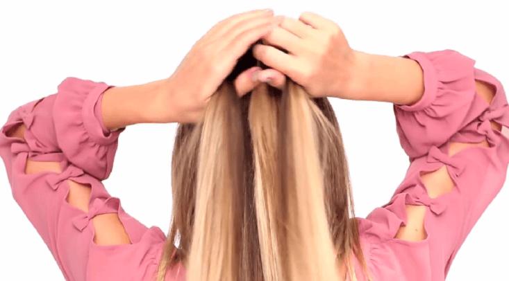 Wunderschöner Haarstyle für den Sommer