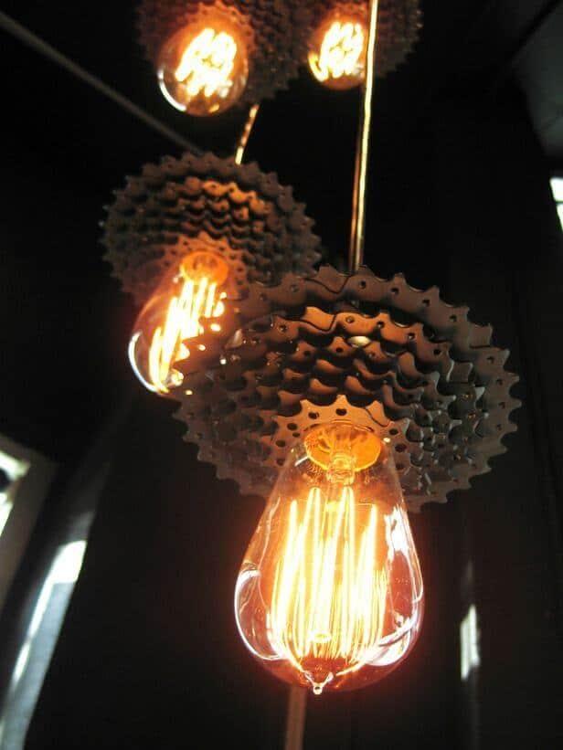 DIY Lampen - Stimmungslicht selber machen aus Fahrradgetrieben