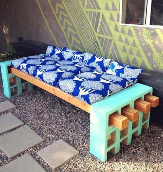 DIY Gartenbank - Gartenprojekte zum Selbermachen
