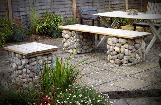 DIY Gartenmöbel Ideen - kreative Ideen, um deinen Garten kreativ zu gestalten