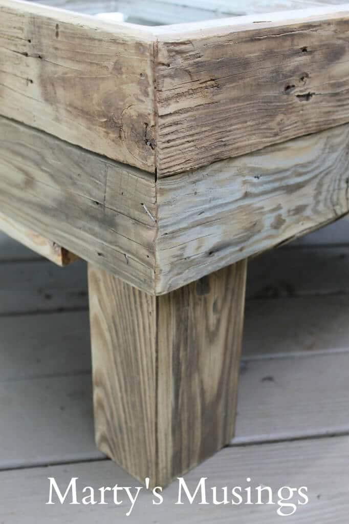rustikale Gartenmöbel selber machen - DIY Bastelideen
