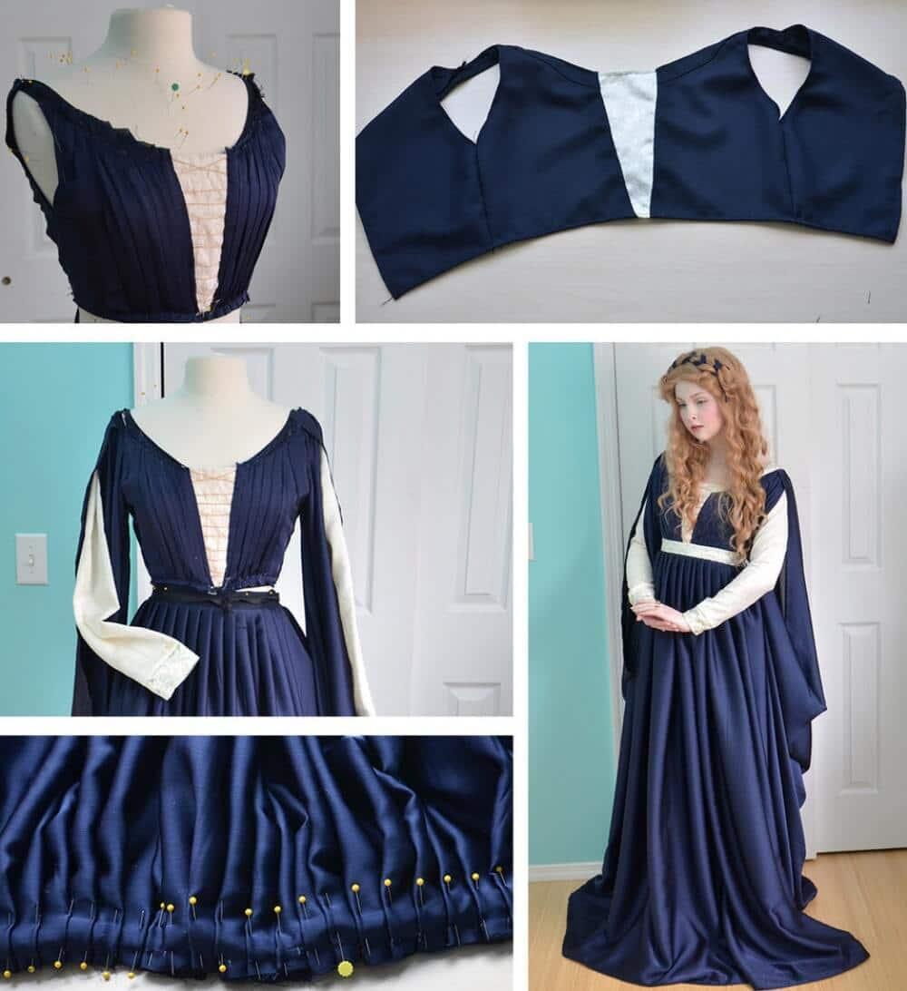 Märchenhaftes Kleid nähen