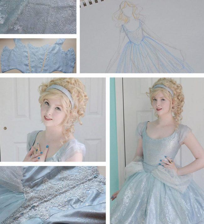 reales Aschenputtel-Kleid