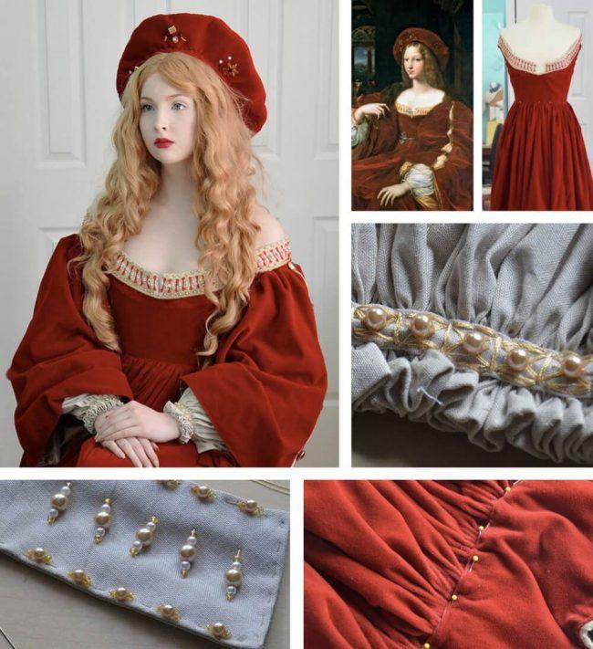 Doña Isabel Kleid nachmachen