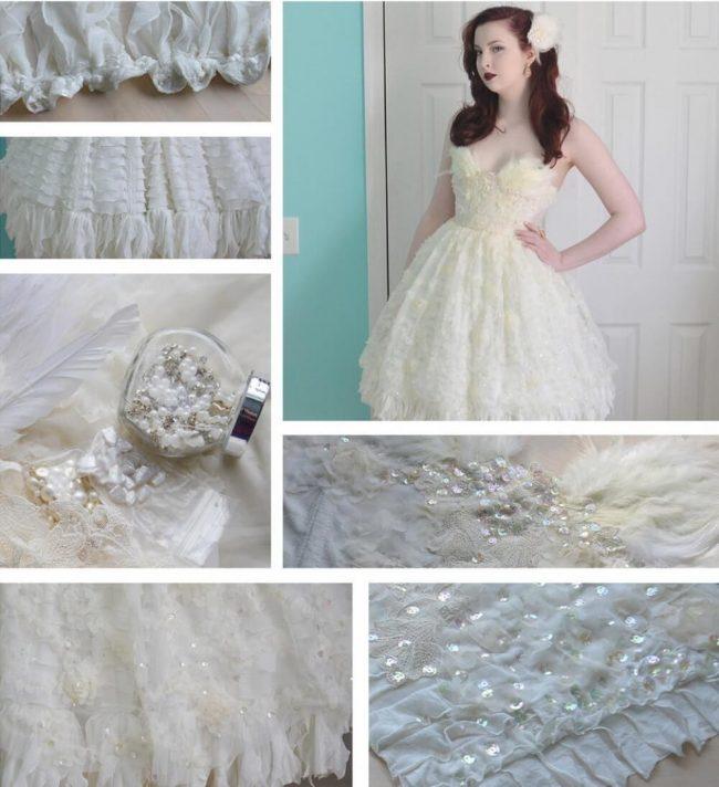 traumhaftes Brautkleid für Prinzessinnen nähen
