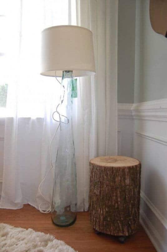 Glaslampe - Deko selber machen