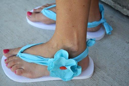 Strand Sandalen selber machen - DIY Sommerprojekte