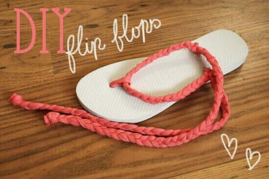 DIY Flip-Flops - Sommerideen