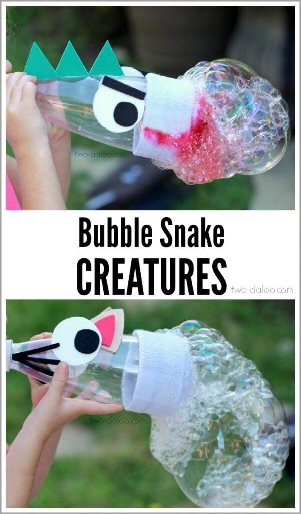riesige, bunte Seifenblasen selber machen