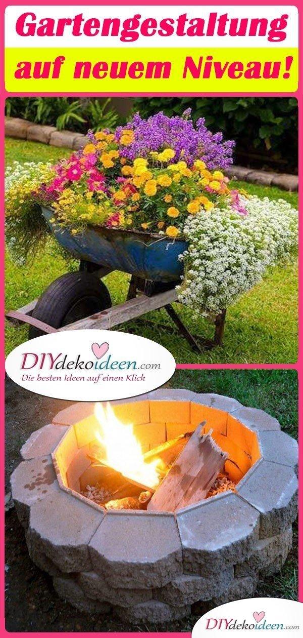 Gartengestaltung auf neuem Niveau!