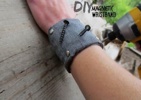 magnetisches Armband an Männer verschenken - kreative Accessoires für Heimwerker