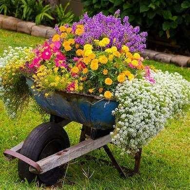 DIY Blumentöpfe-Deko für den Garten-Gartengestaltung