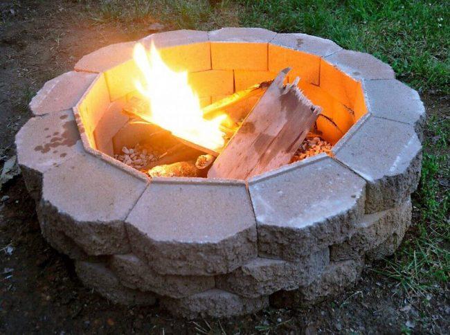 DIY Feuergrube-Bastelideen für den Garten-Gartengestaltung