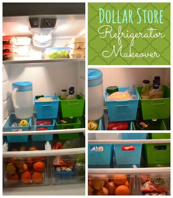Mit Plastikkisten herrscht im Kühlschrank mehr Ordnung