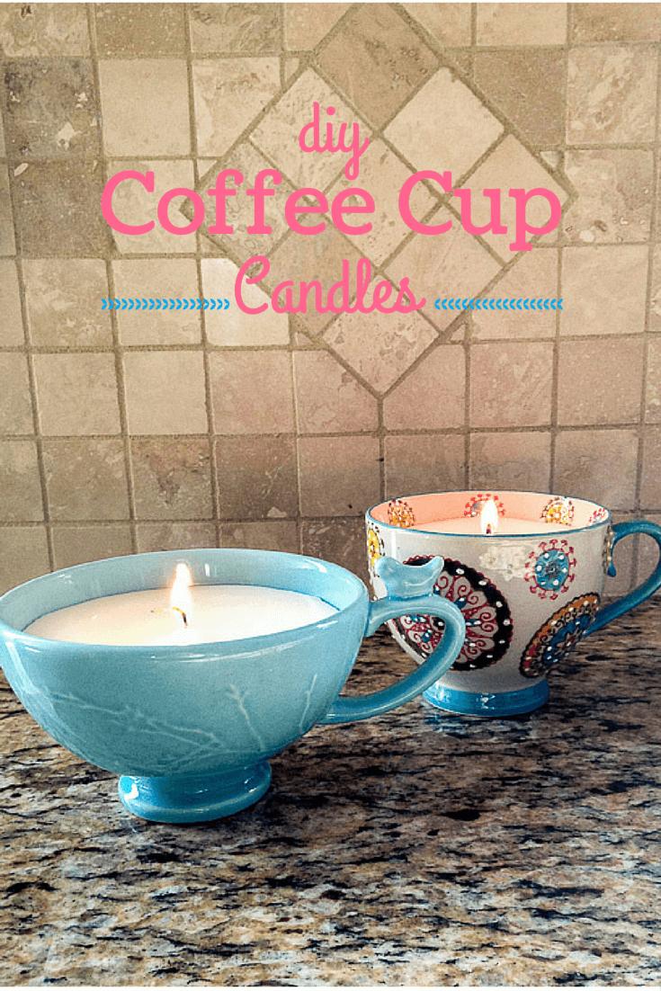 Kaffetassen - Kerzen gießen - Tassen wiederverwenden