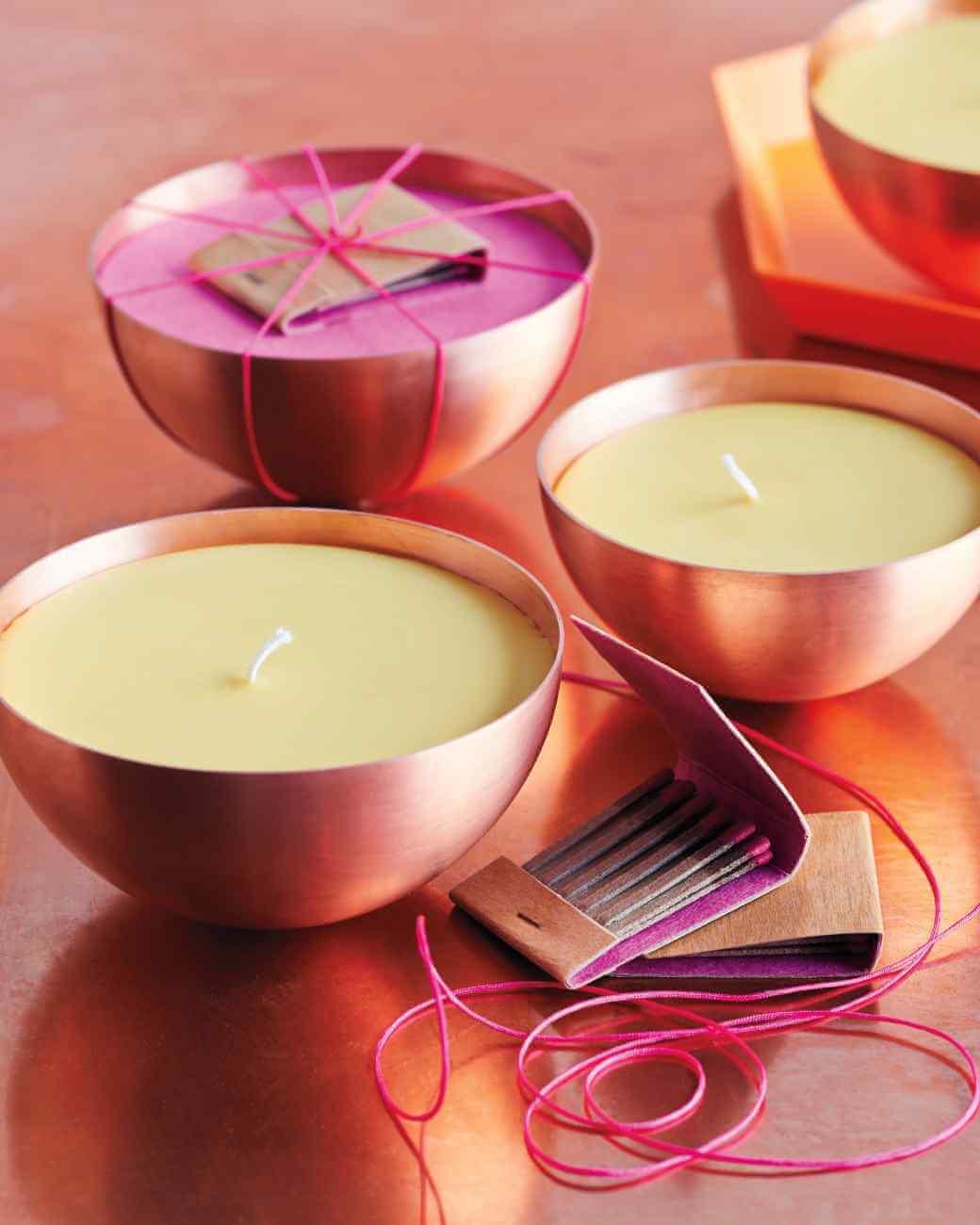 DIY Zitruskerze - Duftkerze selber machen