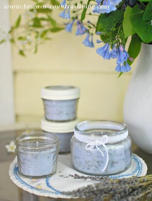 DIY Lavendelkerze - Duftkerze gießen