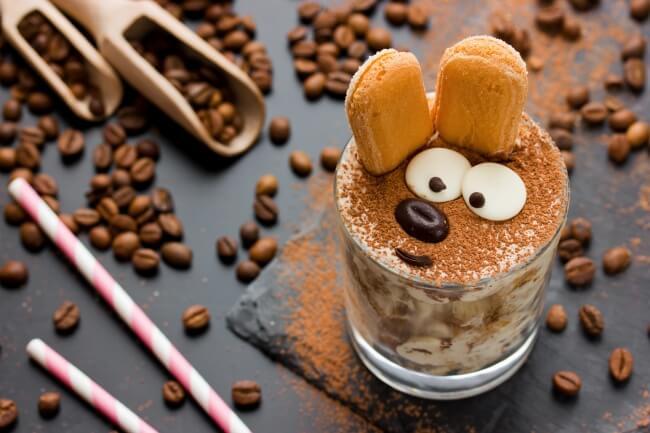 Tiramisu für Kinder - Hase - Kreative Rezepte