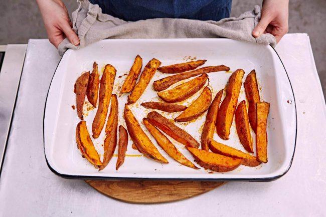 Süßkartoffel Pommes Rezeptideen