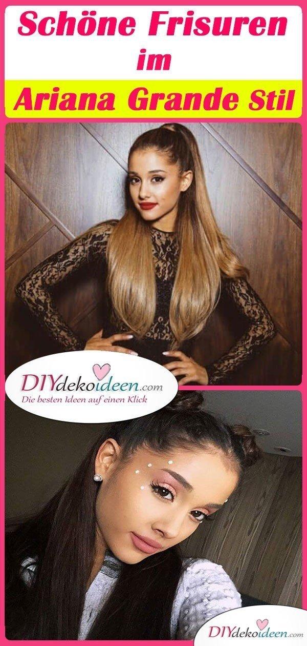 Schöne Frisuren im Ariana Grande Stil