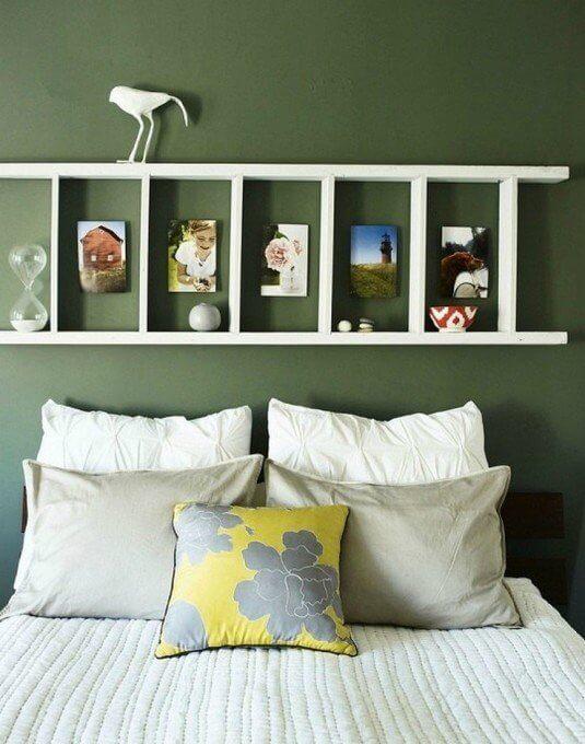 So kannst du am schönsten eine Leiter in dein Interieur einarbeiten - Schlafzimmer