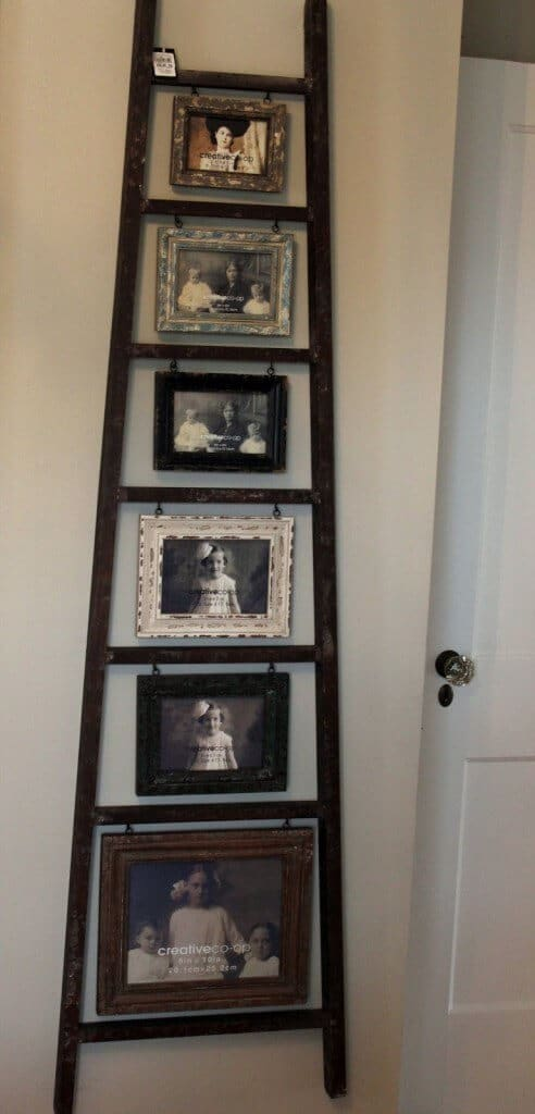 So kannst du am schönsten eine Leiter in dein Interieur einarbeiten - Familienfoto Ausstellung