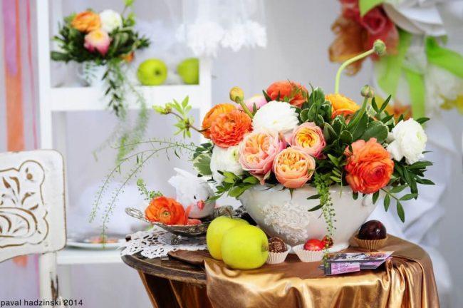 DIY Blumen-Dekoration - kreative Ideen