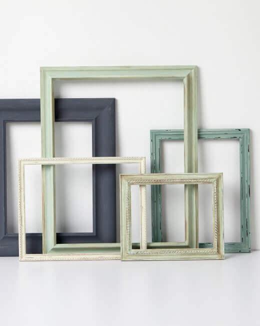 Rustikale Bilderrahmen selber machen - Wohndeko-Ideen