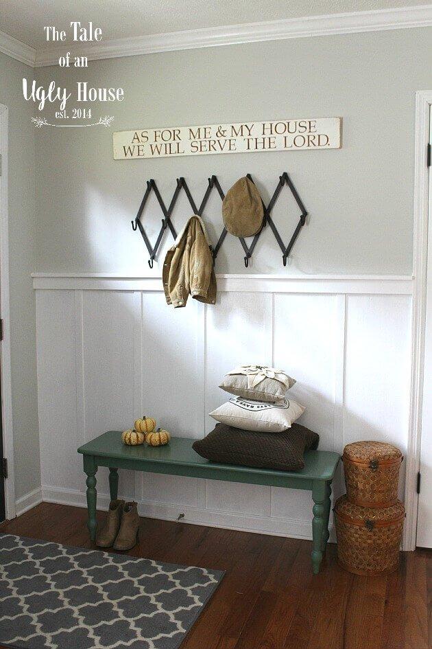 Sitzbank als Wohndeko verwenden - DIY Wohnideen