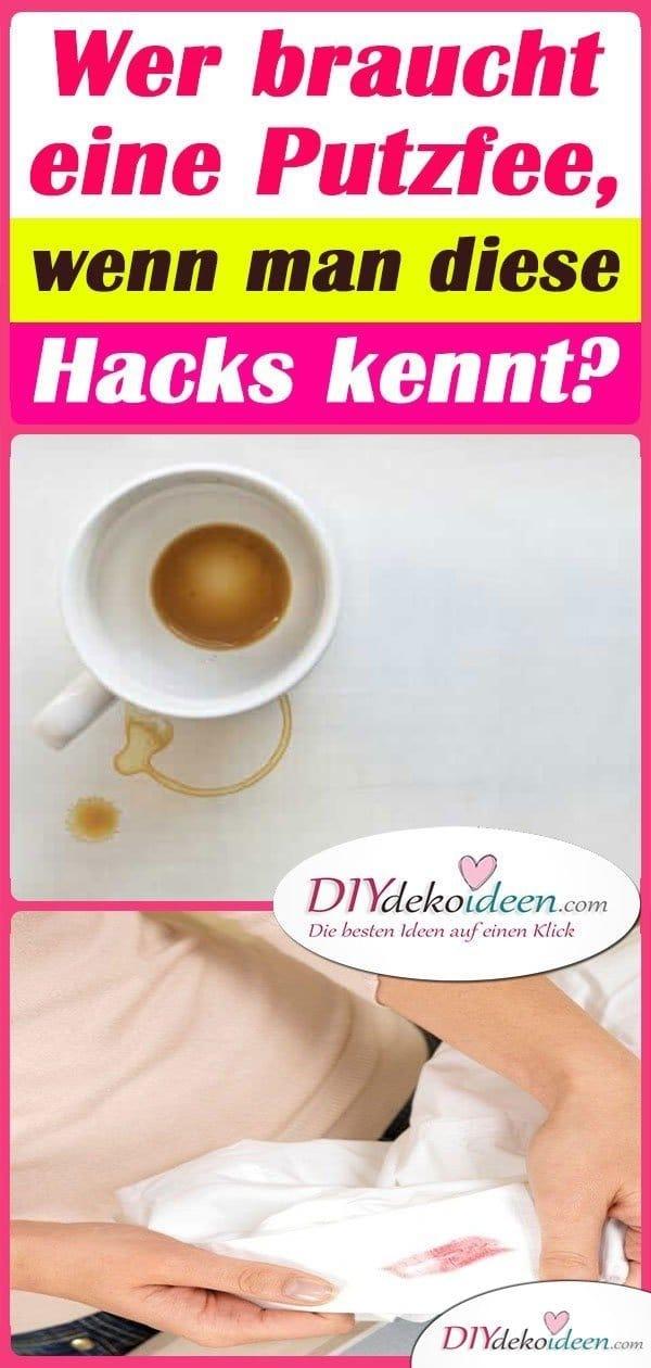 Wer braucht eine Putzfee, wenn man diese Hacks kennt?