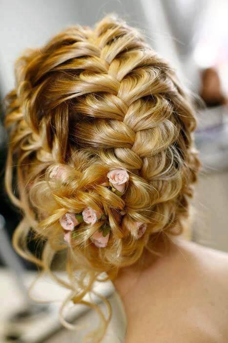 Frisur Ideen für Hochzeiten