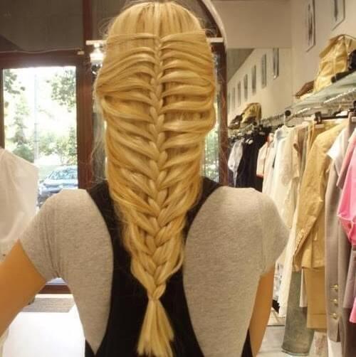 wunderschöner Flechtzopf - DIY Haarstyle