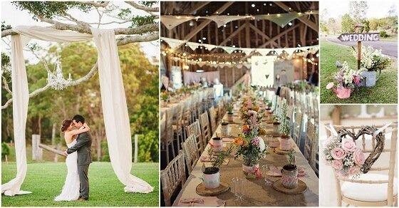 Schein auf dem großen Tag mit diesen wundervollen Hochzeitsdekoration Ideen