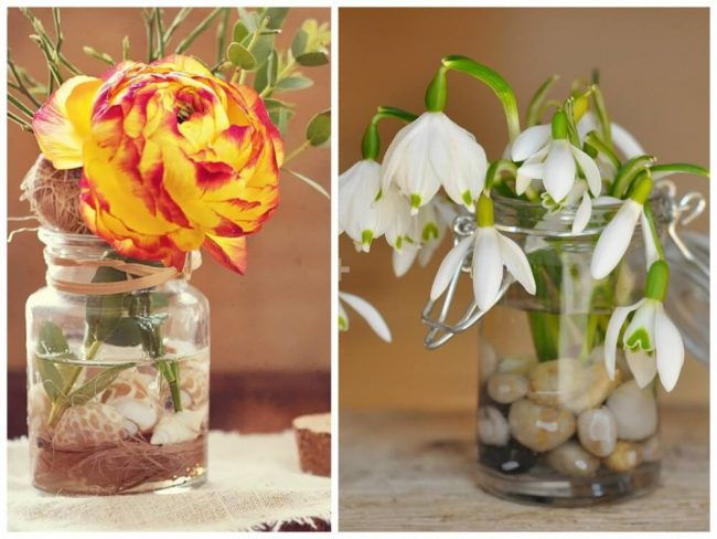 DIY Deko-Ideen mit Blumen - Tischdeko