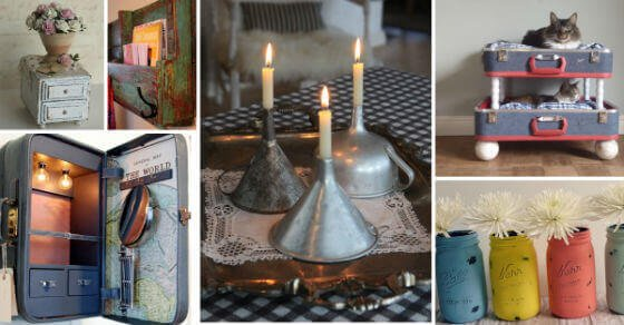 Verschöner deine Wohnung mit diesen hübschen rustikalen Dekoideen