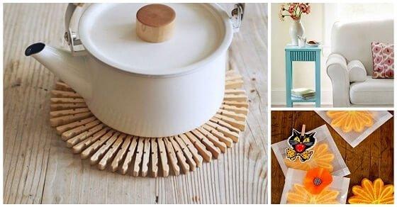 12 hübsche Deko Ideen mit Wäscheklammern