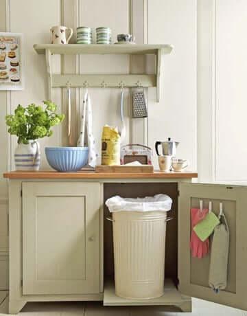 Deko Ideen mit Wäscheklammern Küchen-Ideen - Küchendeko praktisch gestalten