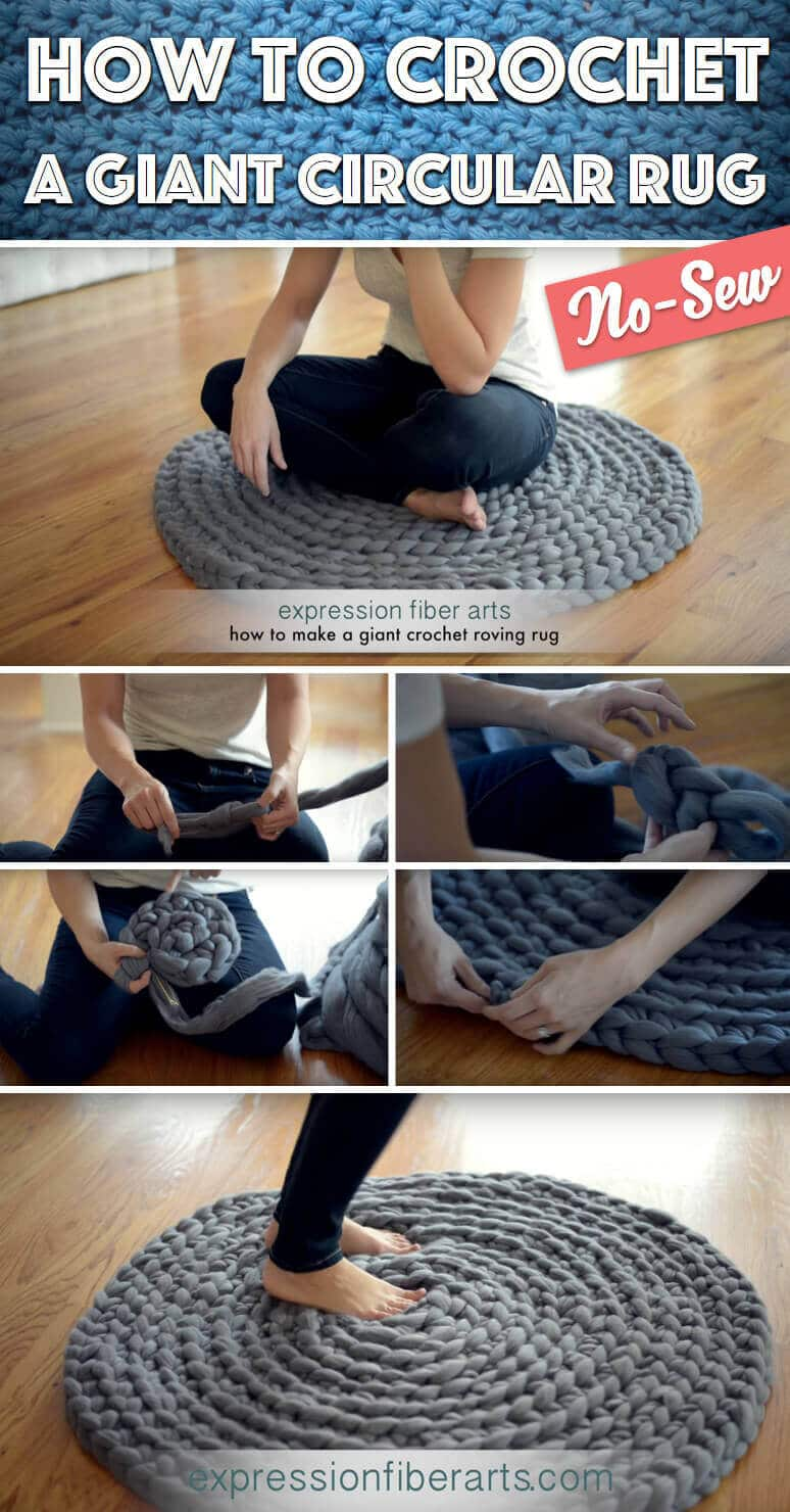 Teppich selber machen - DIY Deko-Ideen