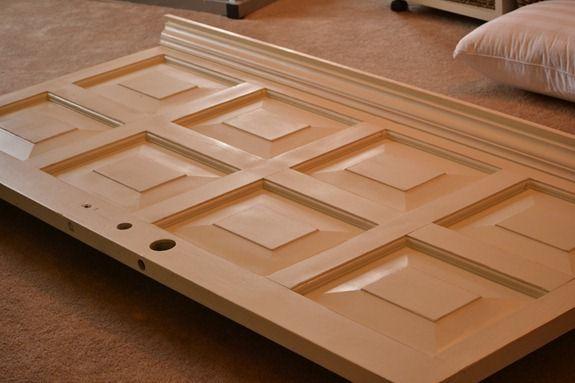 Holz zum attraktiven Kopfende zaubern-DIY Bastelidee