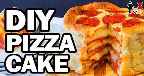 Mit diesem Pizzakuchen begeisterst du deine Gäste.