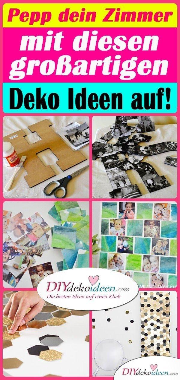 Pepp dein Zimmer mit diesen großartigen Deko Ideen auf!