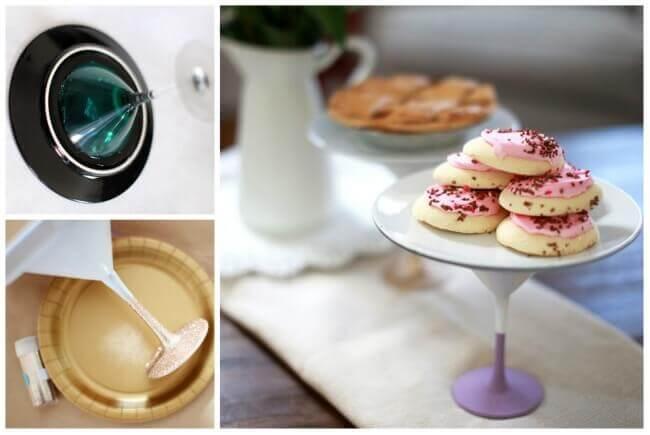 Tortenständer selber machen - DIY Küchenaccessoires